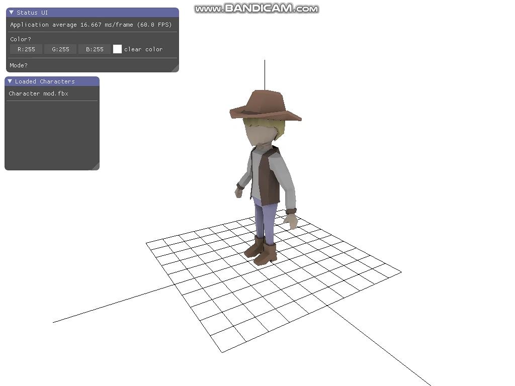 3D 삽질-B지부: OpenGL 3 3+에서 PMX, FBX 렌더링