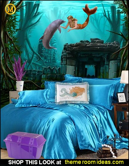 aqua bedding mermaid bedrooms aqua bedding