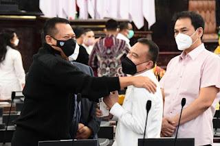 Pimpinan MPR/DPR Hadiri Gladi Bersih, Pastikan Sidang Tahunan MPR RI Siap Digelar Besok
