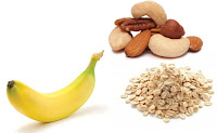bananas and nuts for health