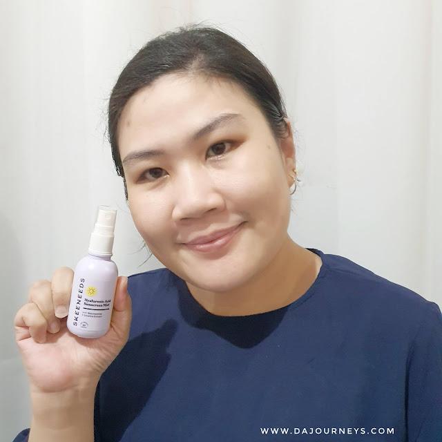 Review Skeeneeds Hyaluronic Acid Sunscreen Mist