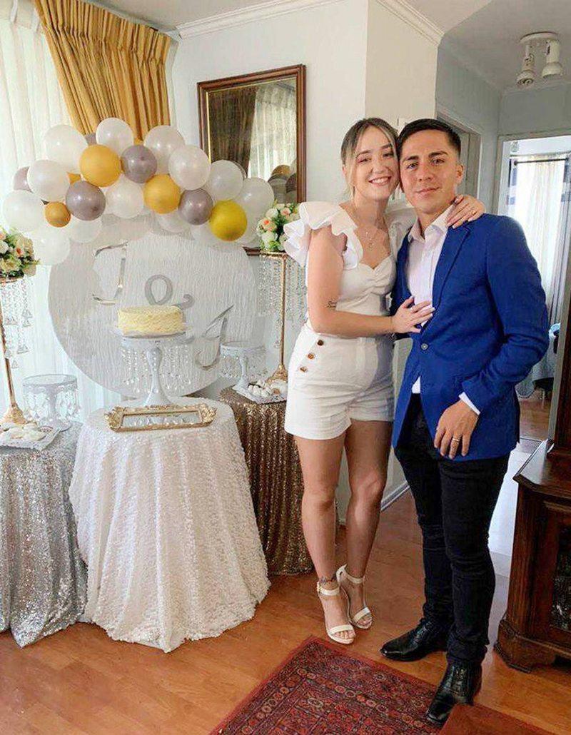 El matrimonio express de Isidora Riquelme con Jaime Carreño