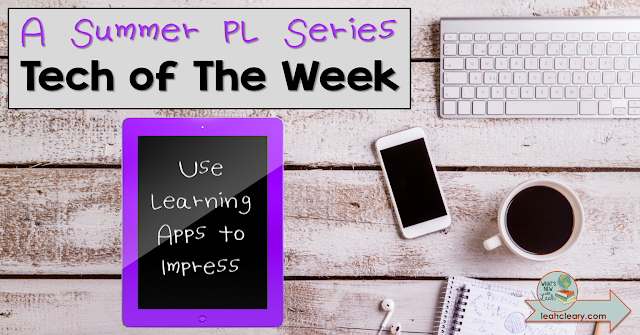 This week's Tech of The Week discusses how to use the site learningapps.org to create free and effortless digital puzzles that are bound to impress your students and admin!