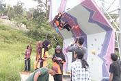 FPTI Abdya Launching Wall Climbing