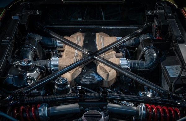 Mesin Lamborghini Sian