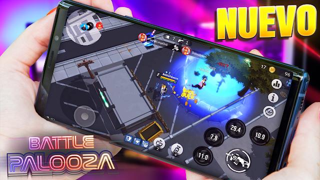 Impresionante Juego Nuevo de Battle Royale Para Android | Battlepalooza