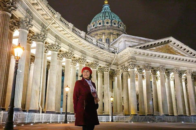 Kazan Cathedral, St. Petersburgh, Russia