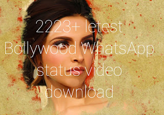 Bollywood WhatsApp status video