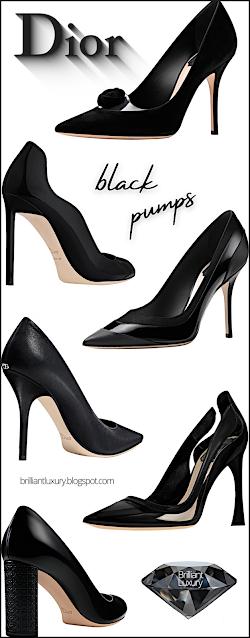 Black Dior Shoe Collection #brilliantluxury