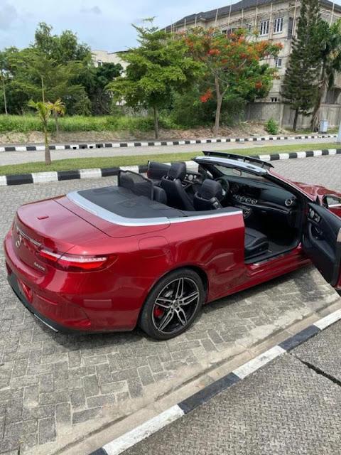 Mercy Eke buys a New Mercedes Benz (Photos)