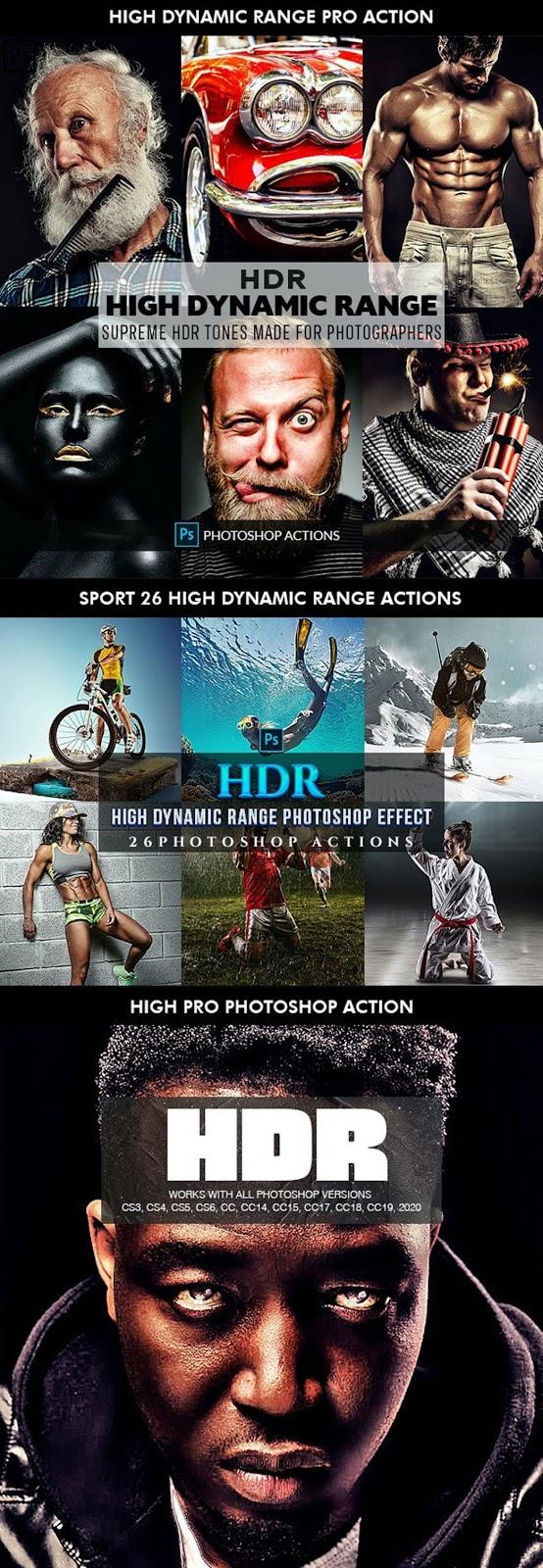HDR Bundle   Photoshop Actions 27196533