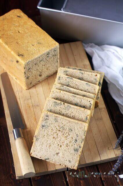 como hacer pan con semillas