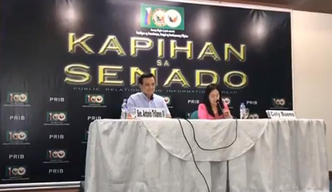 Trillanes Naka-uwi na Sa Pilipinas, Nagpakitang Gilas Agad sa Presscon