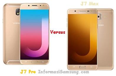 Samsung Galaxy J7 Pro vs J7 Max