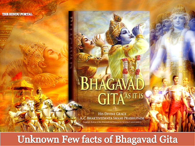 Unknown facts of Bhagavad Gita