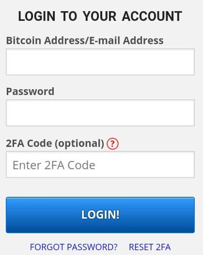 """Sampai disini, anda sudah berhasil mendaftar di Freebitco.in, langkah selanjutnya adalah silahkan pilih login kemudian isi Email Address dan Password yang telah didaftarkan tadi lalu silahkan pilih """"Login""""."""