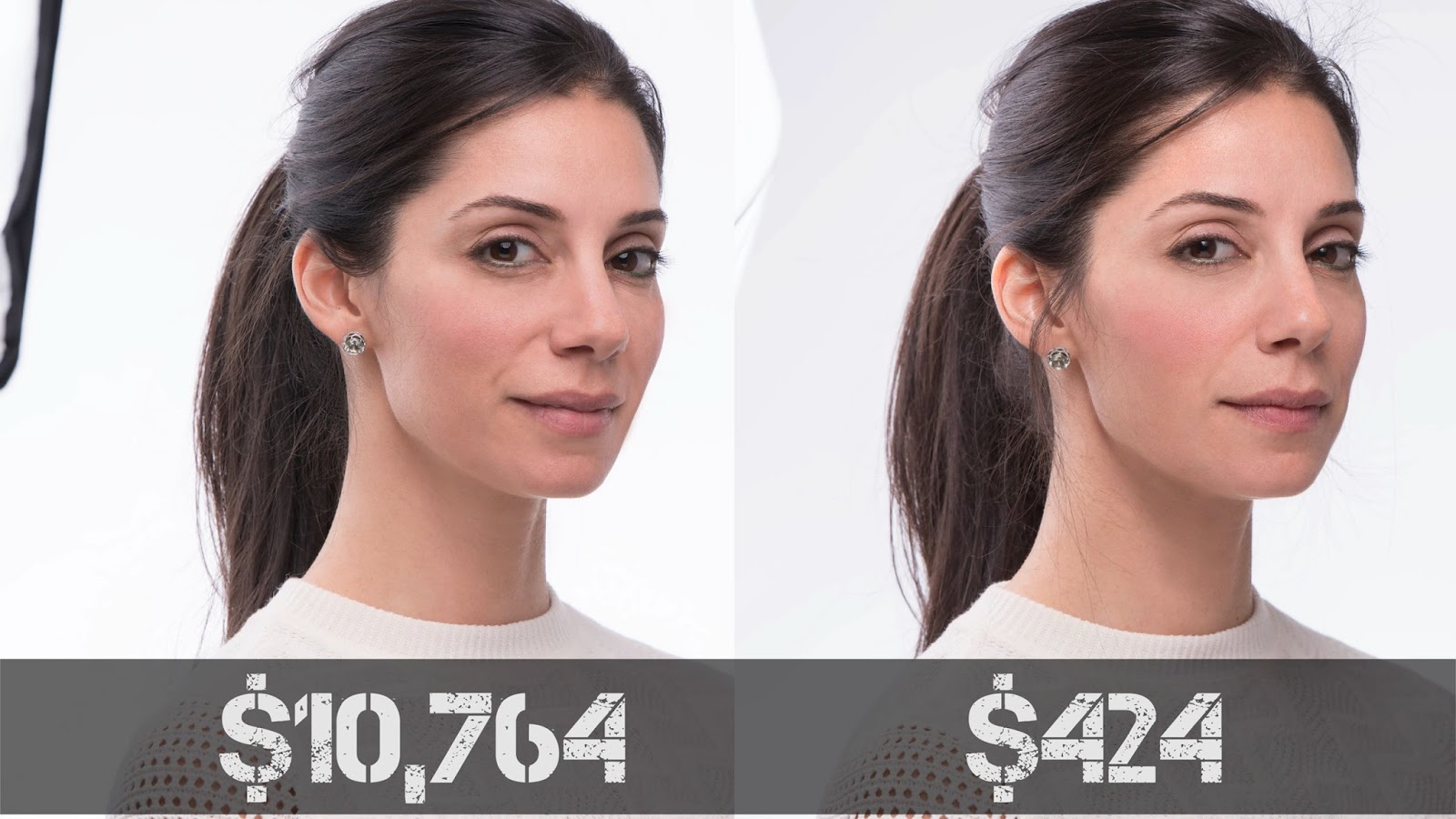 Beauty Portraits: Cheap Speedlights vs. Pro Lights