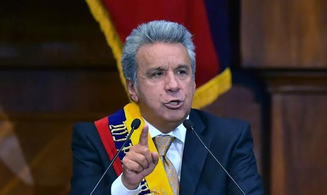 El presidente ecuatoriano, Lenín Moreno