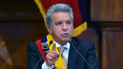 Ecuador: Presidente Moreno pide aprobar ley para expulsar a delincuentes extranjeros