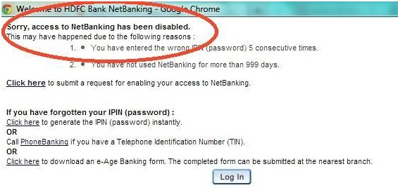 how to create a netbanking account