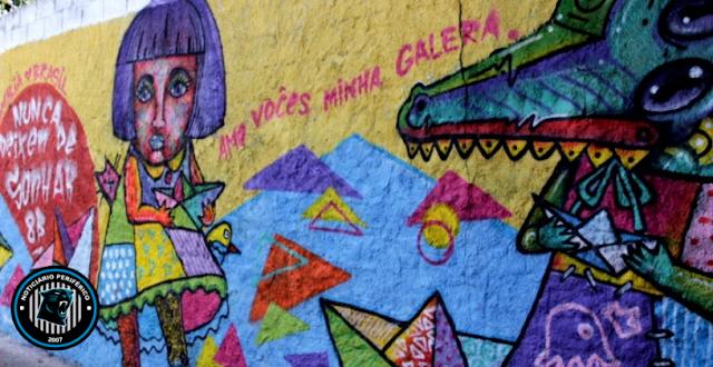 O graffiti encheu  HELIÓPOLIS de cores | Exibição de filme + Tour (grátis)