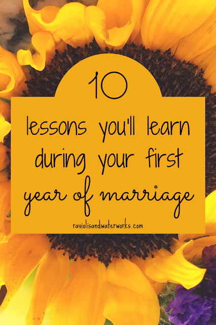 first anniversary; just married; newlyweds; marriage advice;