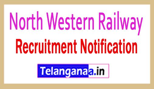 North Western Railway NWR  Recruitment