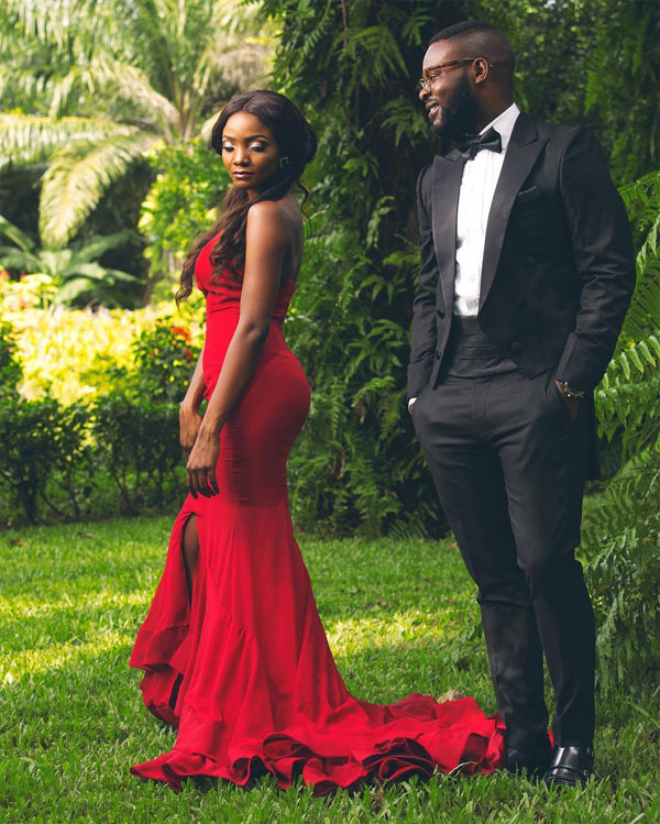 """Falz and Simi throw fans into suspense as they release yet another """"pre-wedding"""" photo"""