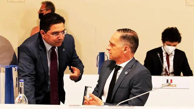 ناصر بوريطة يرفض طلب وزير الخارجية الالماني أثناء لقائهما في إيطاليا