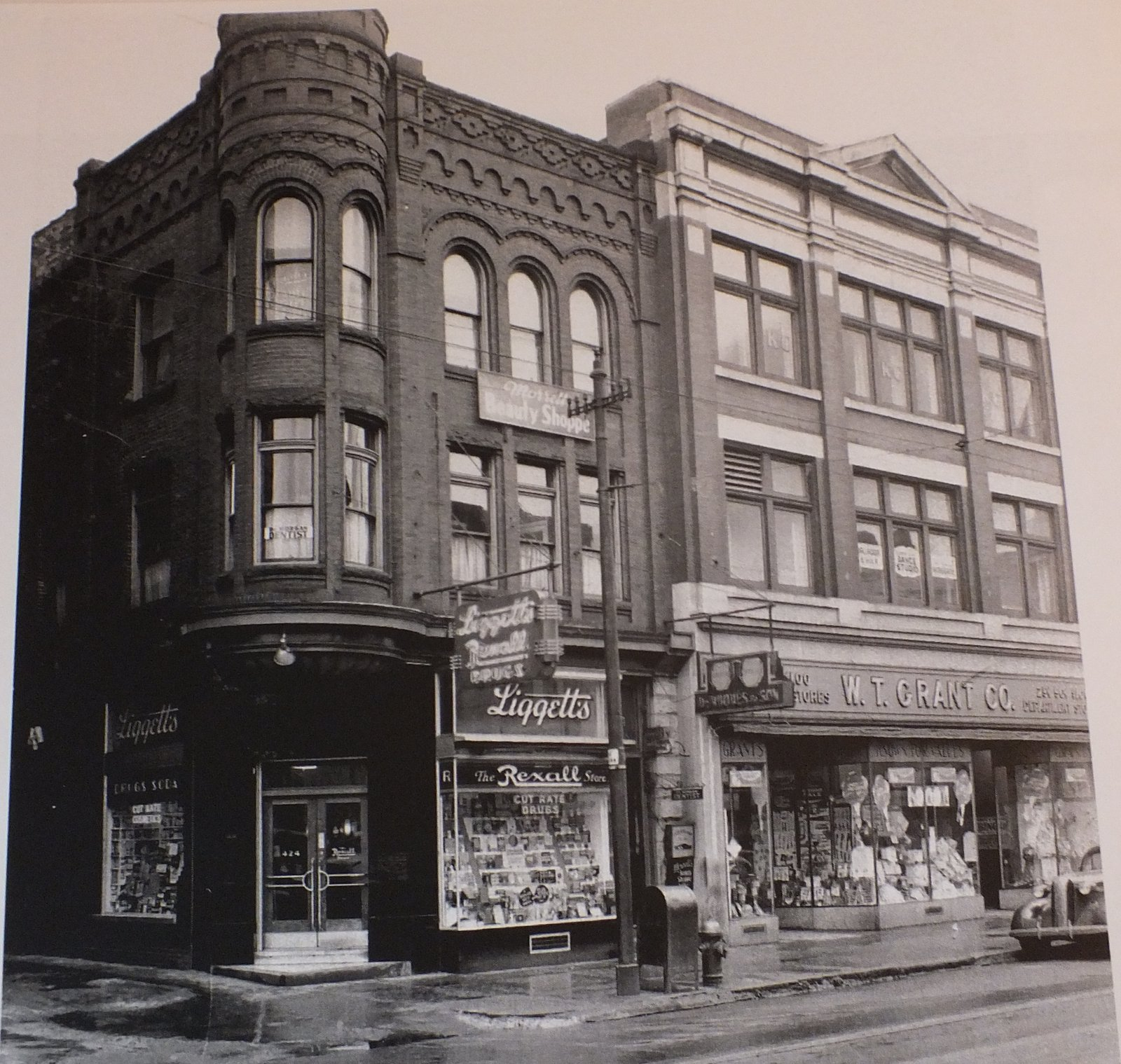 Downtown S Foreman Clark Building To Become 124: Vintage Johnstown: Main Street