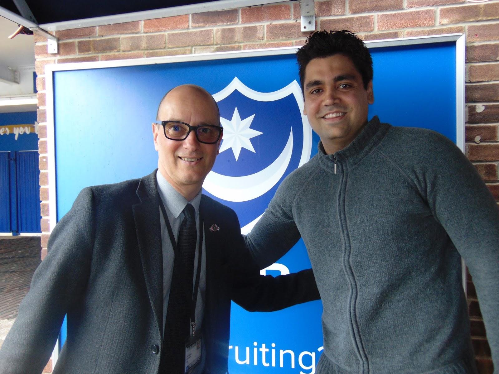 Mauro e Colin Farmery