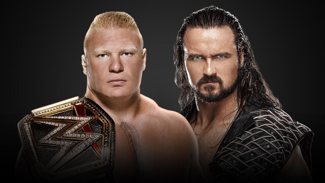 Drew McIntyre Challenged Brock Lesnar For WWE Title at Wrestlemania 36