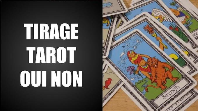 Le Tirage Tarot Oui Non Gratuit