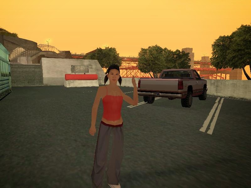 Cara Menjadikan Katie Zhan Pacar Dalam GTA San Andreas PC dan PS2