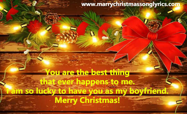 Cute Christmas Messages for Boyfriend
