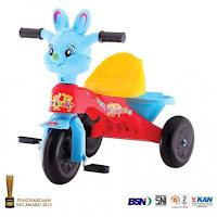 shp sfr615 sweet rabbit tiga roda sepeda