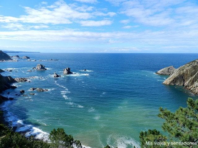 playa de El Silencion Castañeras, Asturias