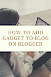 How To Add Gadget To Blog On Blogger