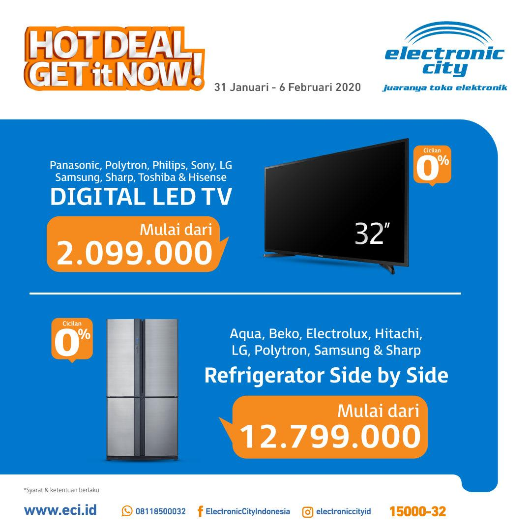 Promo Electronic City Hot Deal 31 Januari 6 Februari 2020 Harga Diskon