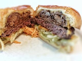 The Pod BBQ Brisket Burger
