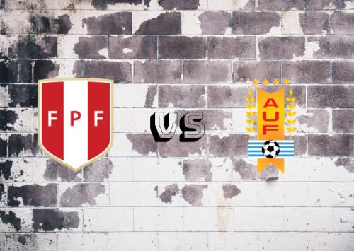 Perú vs Uruguay  Resumen