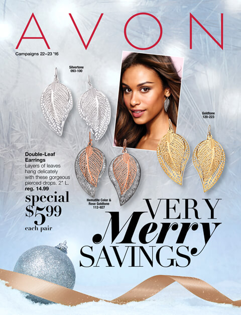 Avon Campaigns 22-23 2016. Shop Flyer >>>