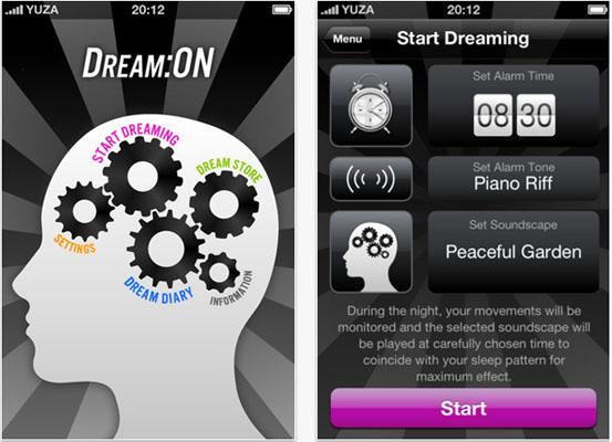 aplicativo estimula os seus sonhos