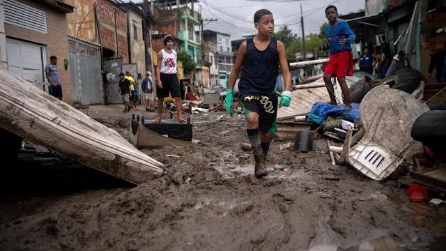 15 dead as torrential rain hits Sao Paulo and Rio de Janeiro