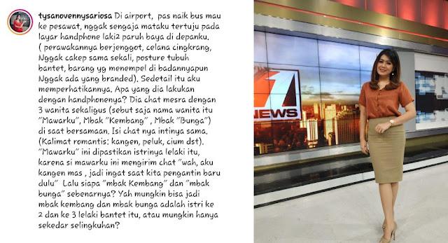 Viral, News Anchor tvOne Nyinyiri Lelaki Berjenggot dan Cingkrang, Sebut 'Biji' Gak Bisa Dijaga