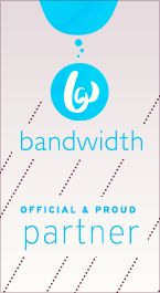 Bandwidth partner badge