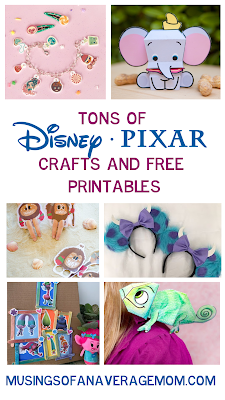 disney pixar crafts