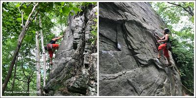 buffalo pit, buffalo corral, rumney rocks, sport lead, slab climbing