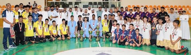 تتويج أبطال رمضانية ناشئة دبا الحصن لكرة قدم الصالات