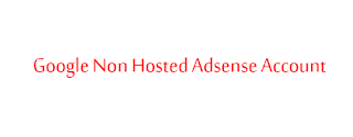 Non Hosted Googel Adsense Account